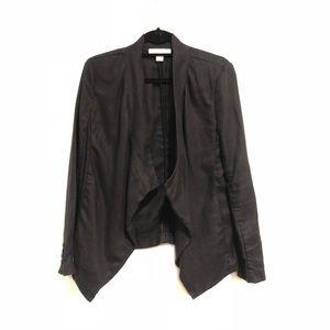 MIchael MIchael Kors Women's Blazer Linen Black 8